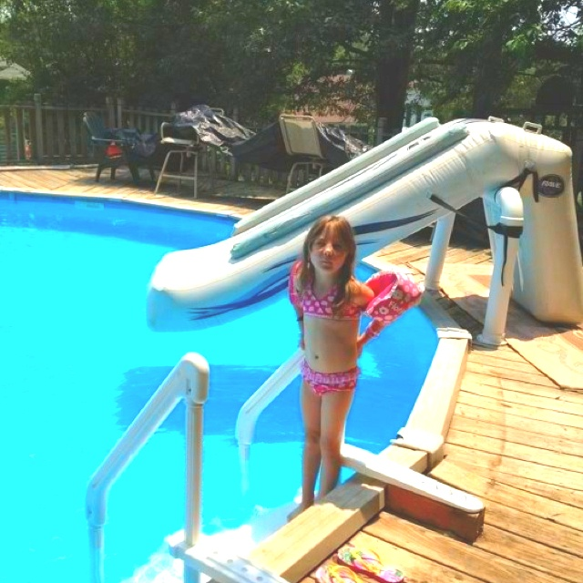 blow up pool in pool