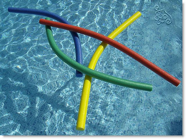 blow up pool noodles