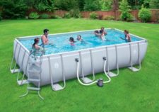 coleman swimming pools above ground installation