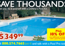 cost of inground pool california