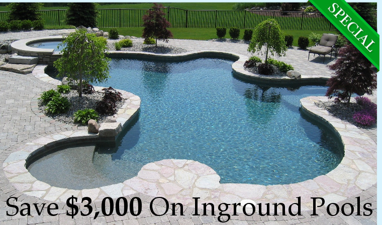 cost of inground pool with hot tub