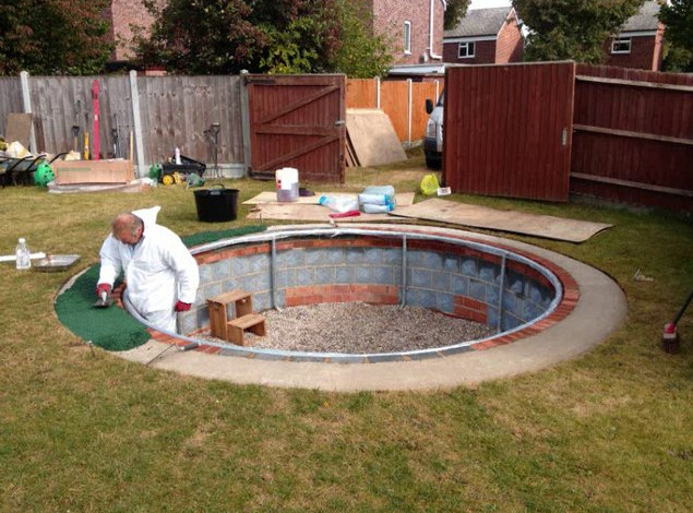 diy swimming pool