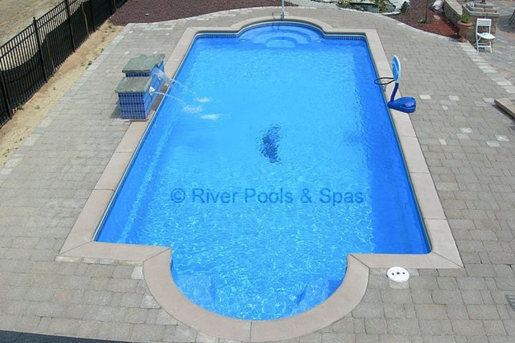 fiberglass inground pool prices installed