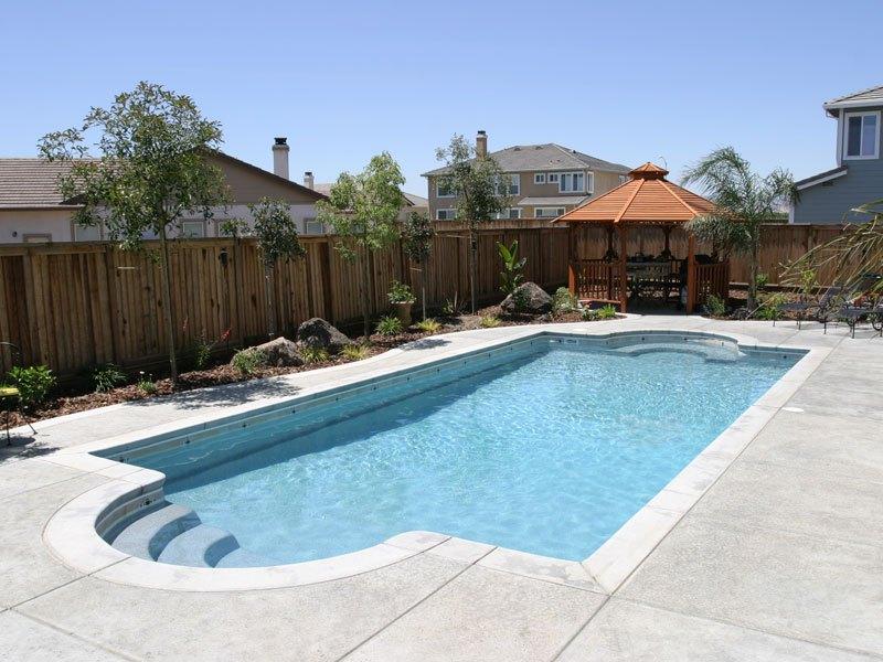 fiberglass pools california