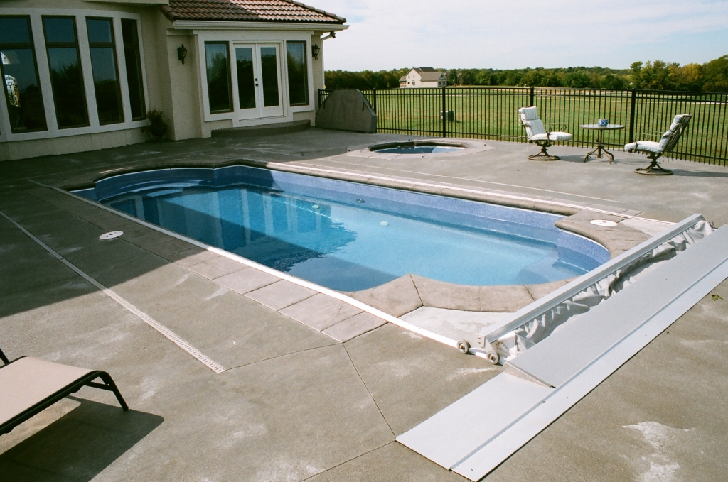fiberglass pools installation