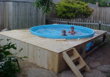 homemade above ground pools