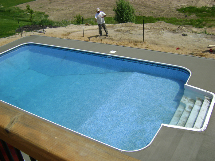 in ground pools installation