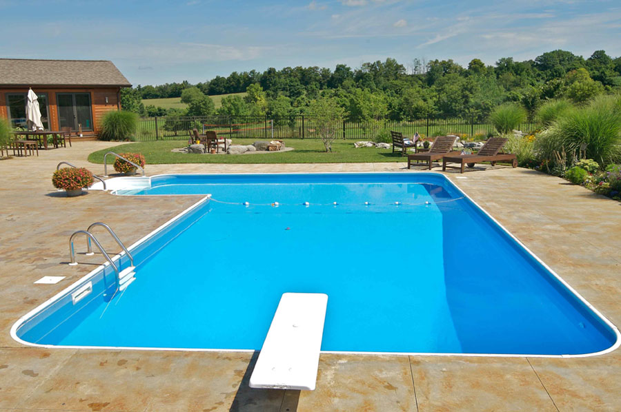 Inground Pool Cost Indiana Swimming Pools Photos