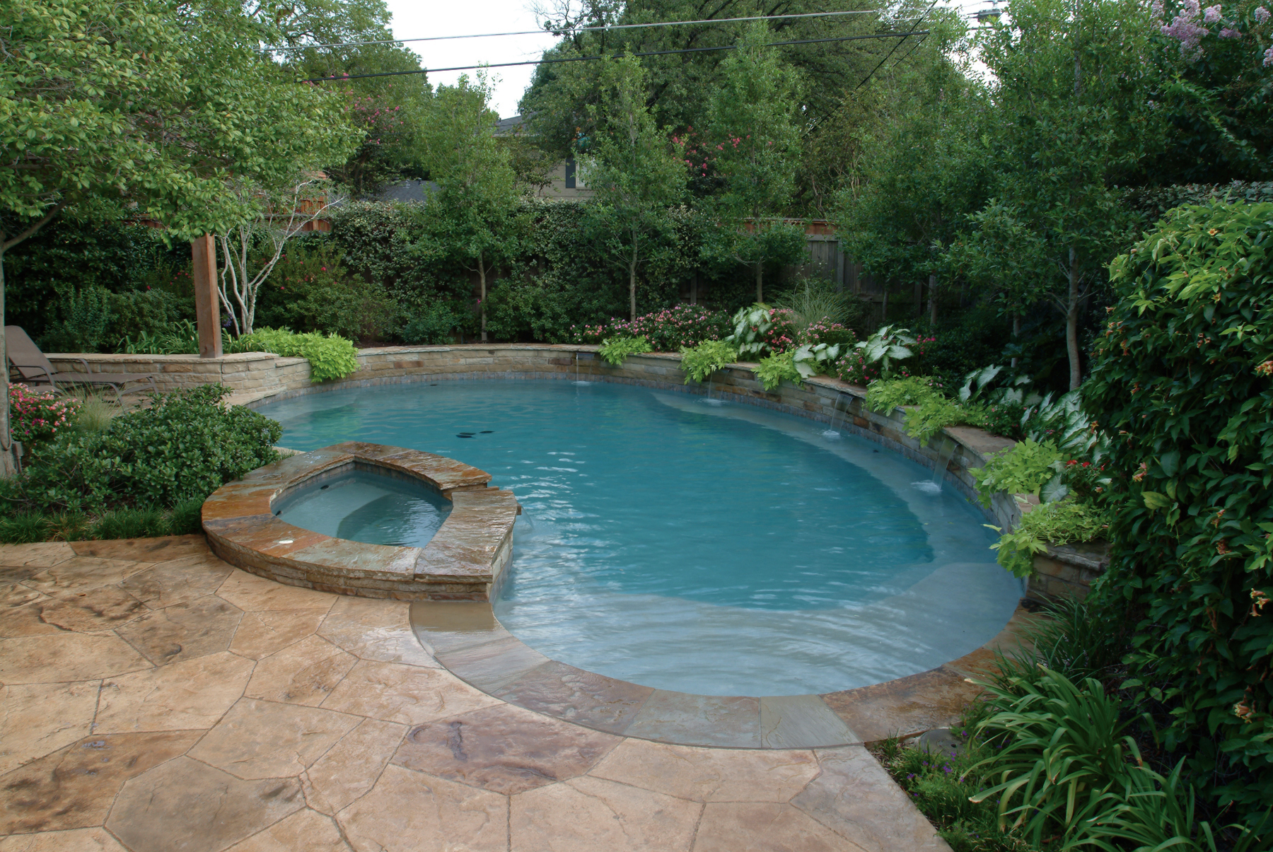 inground pool cost texas