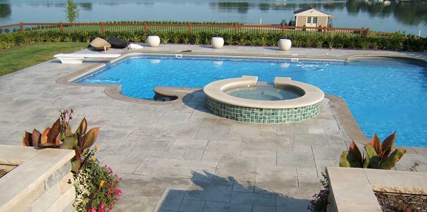 Inground Pools Chicago Swimming Pools Photos