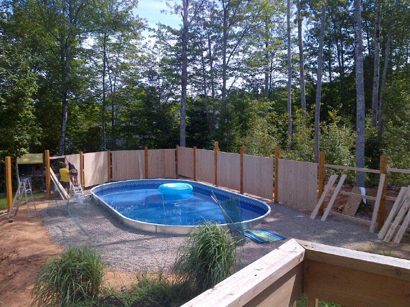 inground pools installed