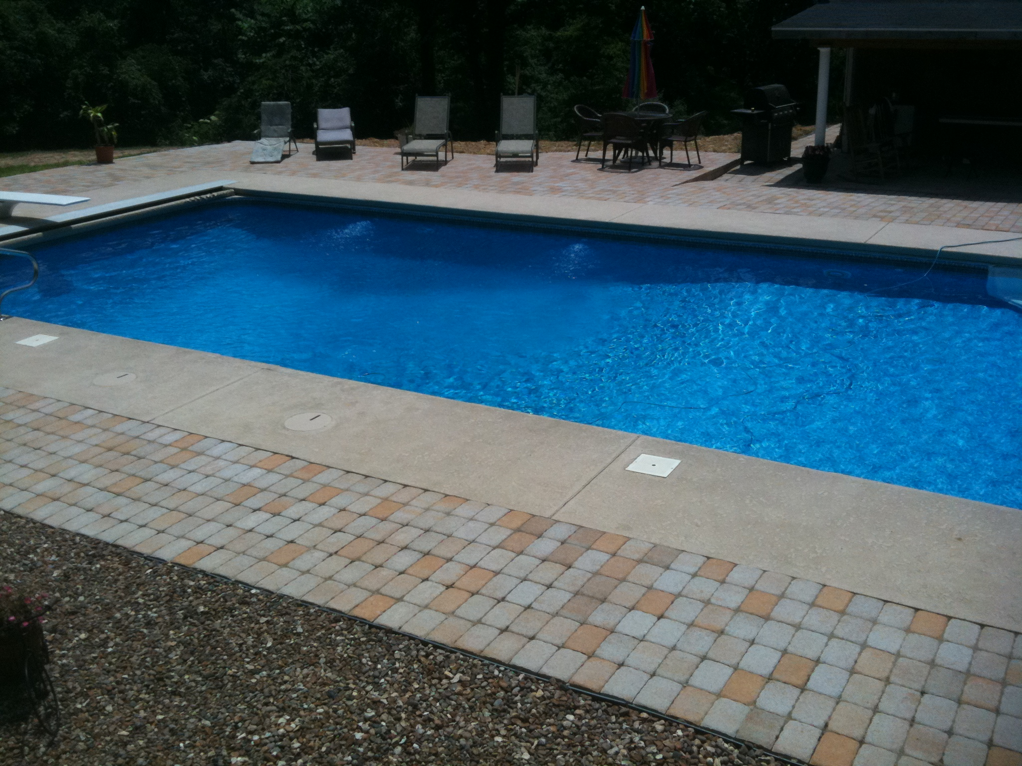 inground pools missouri