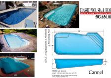 inground pools sizes