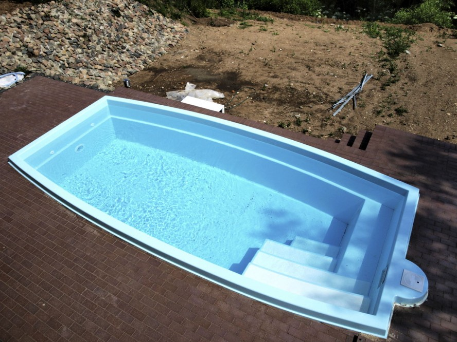 inground swimming pools fiberglass