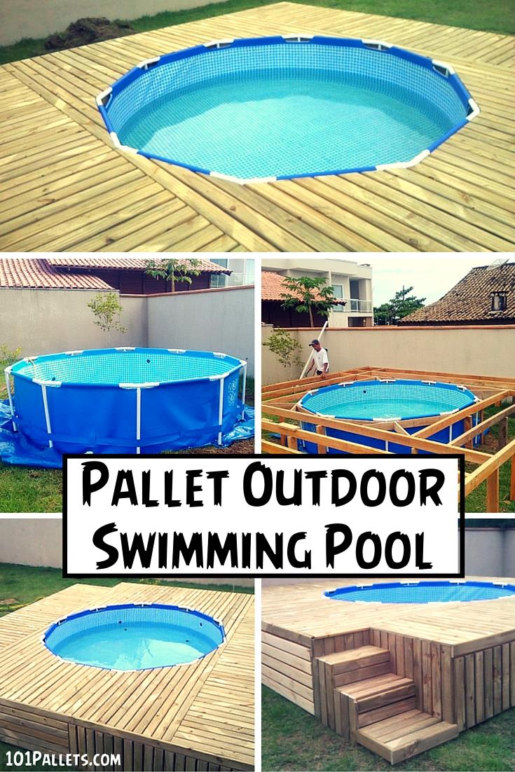 outdoor pool decks