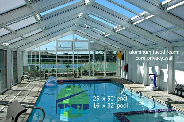 outdoor swimming pool enclosures inflatable