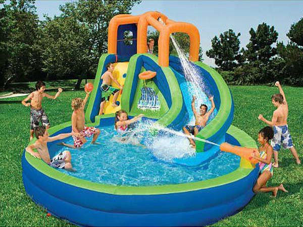 outdoor swimming pool for kids