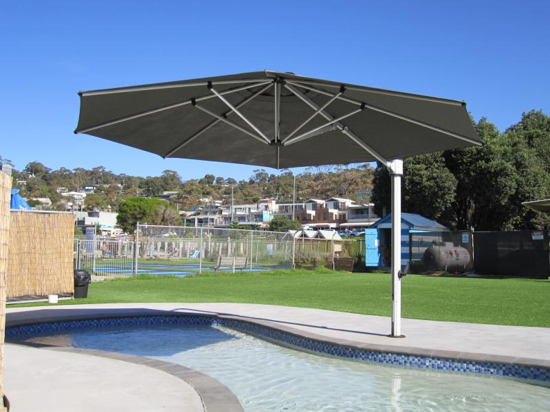outdoor swimming pool shades