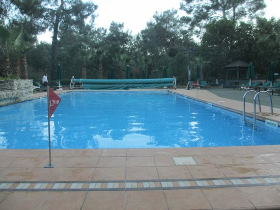 outdoor swimming pool winter
