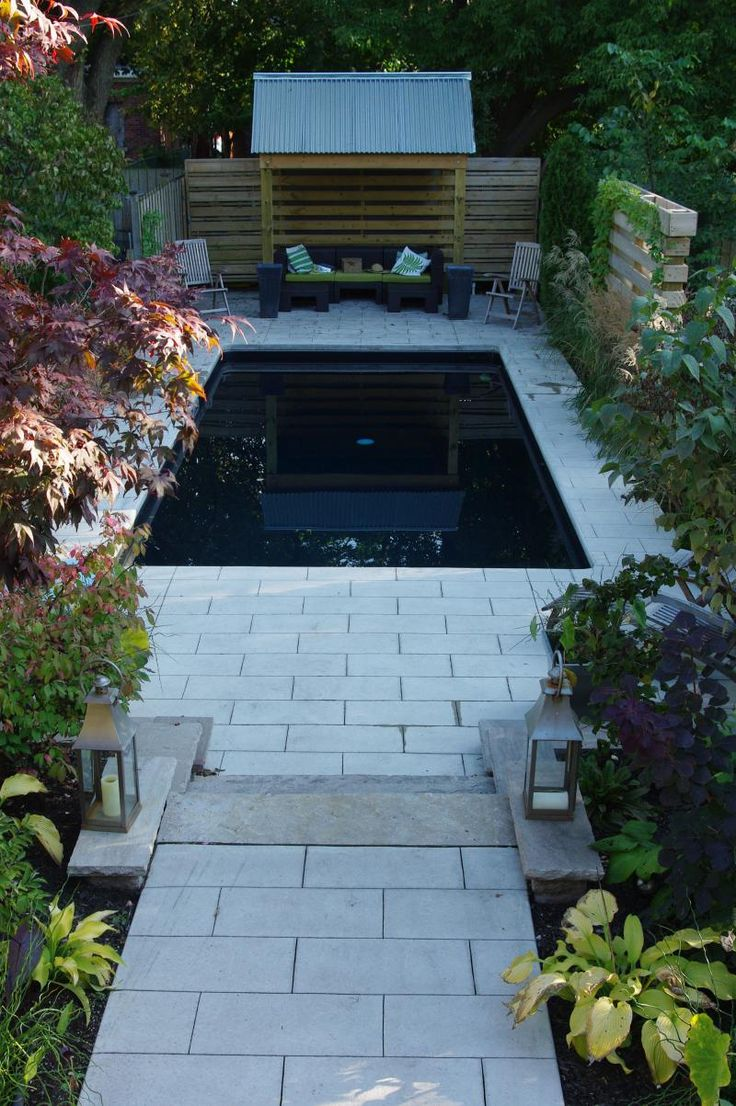 pictures of small pools for small yards