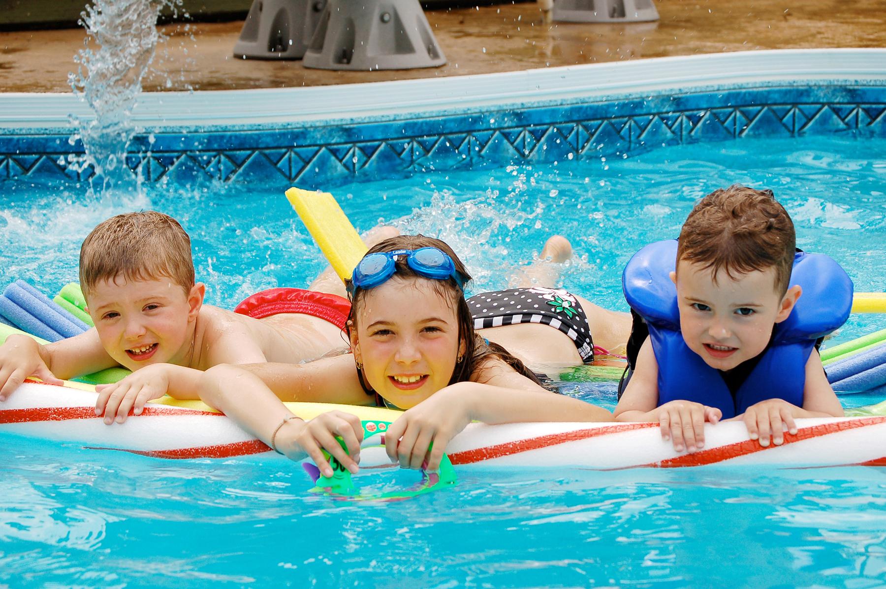 pool swimming kids