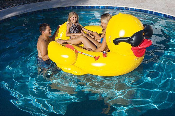 pool swimming strap holder
