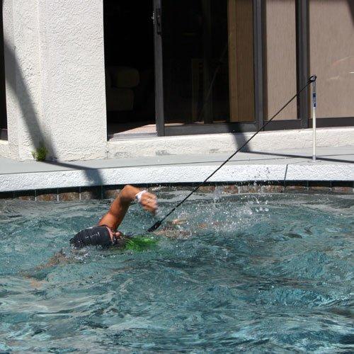 pool swimming tether