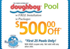 pools above ground coupon
