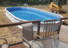 pools above ground installation