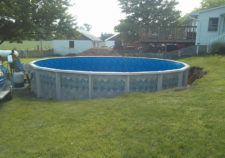 pools above ground installed