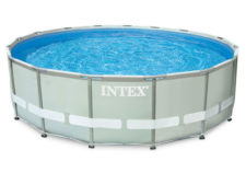 pools above ground intex