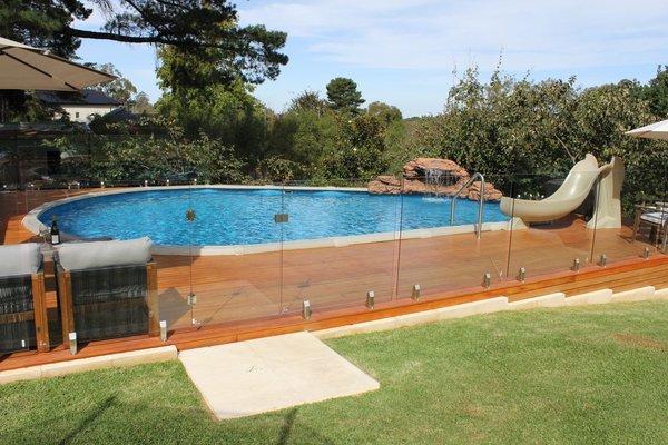 semi inground pools buffalo ny