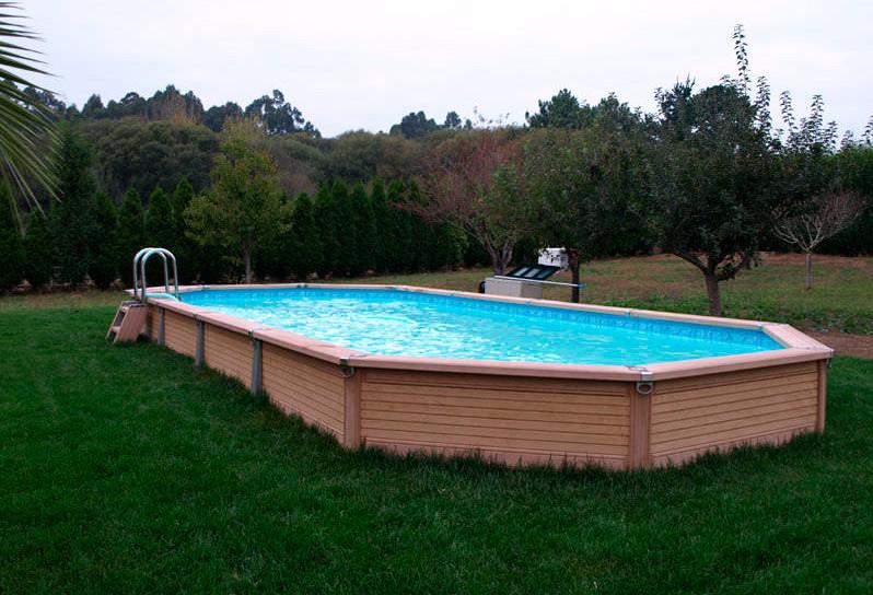 semi inground pools canada