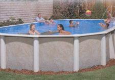 semi inground pools clearance
