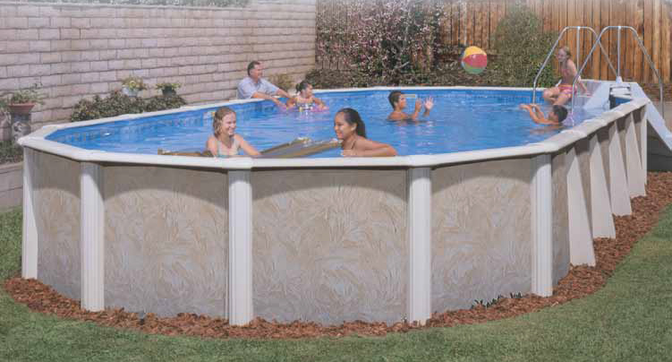 semi inground pools clearance