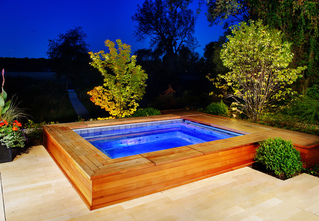 semi inground pools fiberglass