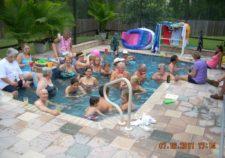 semi inground pools florida