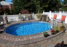 semi inground pools for sale