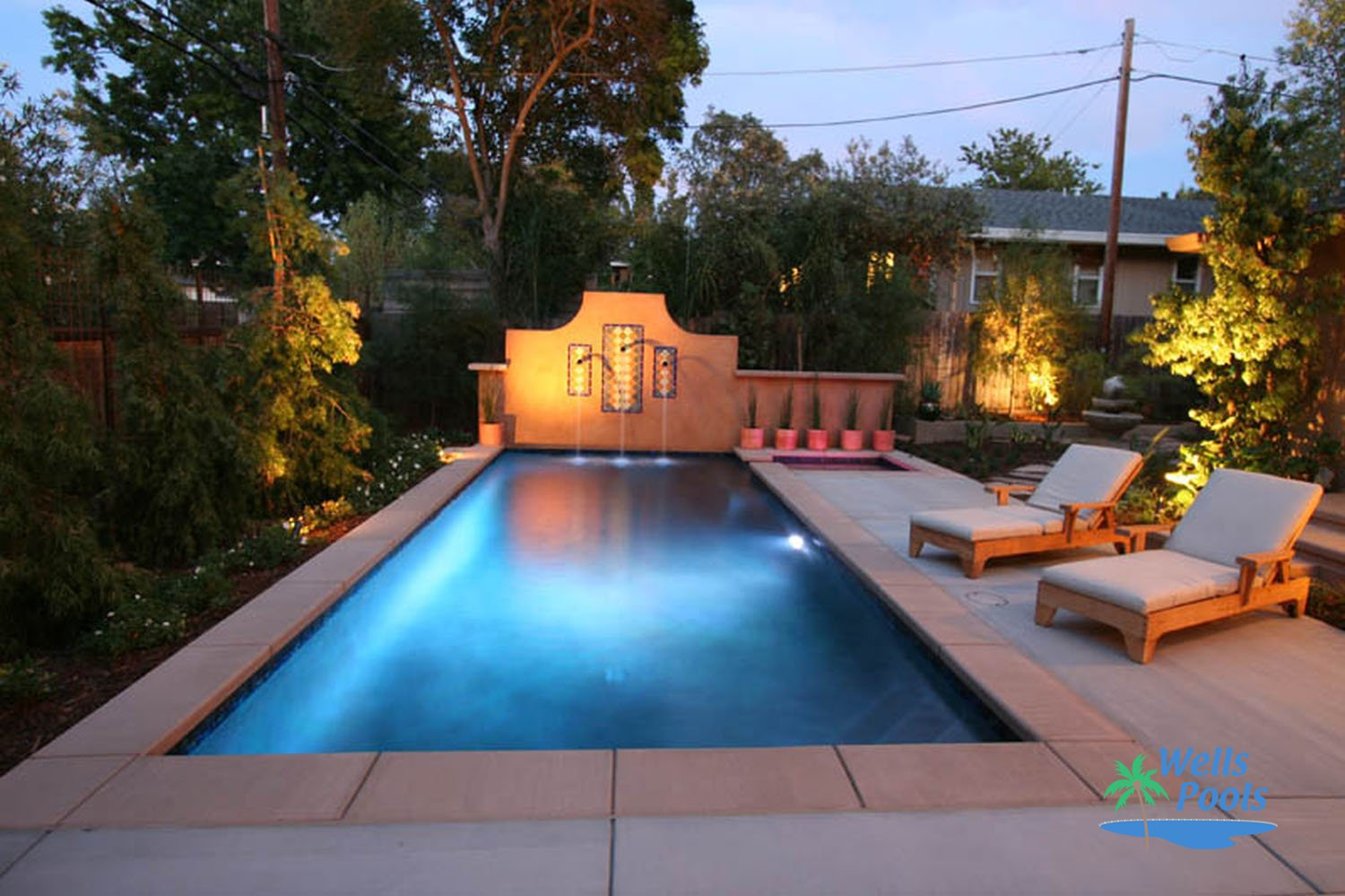 semi inground pools houston