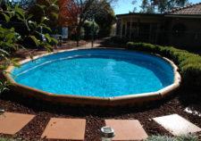 semi inground pools installation