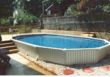 semi inground pools massachusetts