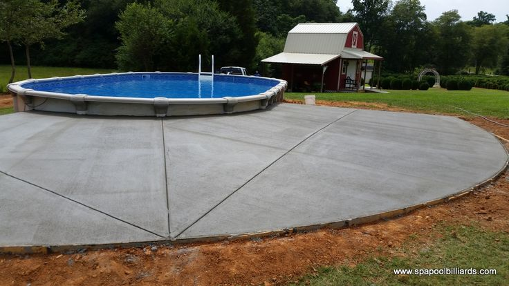semi inground pools ohio