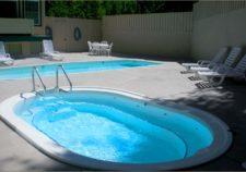 semi inground pools pa