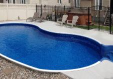 semi inground pools prices