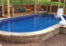 semi inground pools radiant
