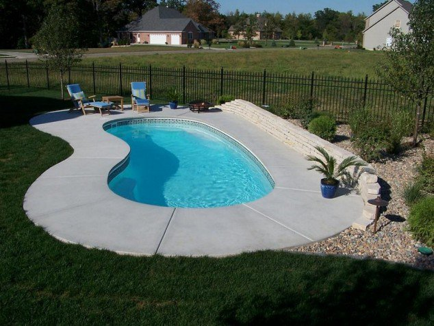 small inground pools pictures