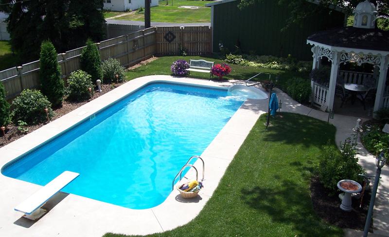 Inground Pools Photos In Michigan Swimming Pools Photos