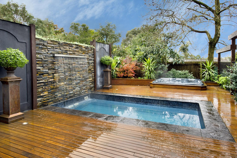 small inground pools spas