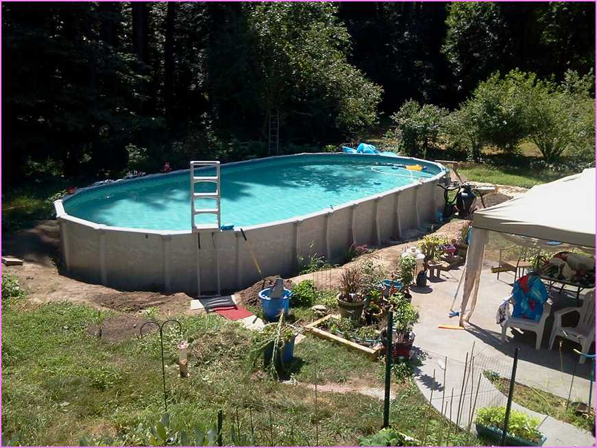small pools above ground