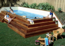 swimming pool installation above ground